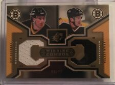 05/06 SPX - BOURQUE / LEETCH - #98/99 - GOLD - WINNING COMBOS - UPPER DECK - UD