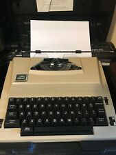 Vintage Sears Electric Typewriter The Graduate W/ Correction in Case- Read Info.