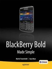 Blackberry Bold Made Simple: For The Blackberry Bold 9700 Series: By Gary Maz...