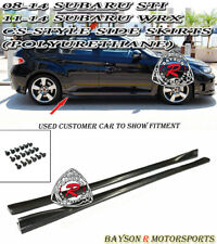 CS-Style Side Skirts (PU) Fits 08-14 Subaru Impreza WRX STi
