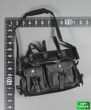 1:6 Scale DAM TOYS Spade J GK001MX Memories Ver - Large Black Leather-like Bag