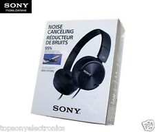 SONY MDR-ZX110NC NOISE CANCELLING HEADPHONES - BLACK