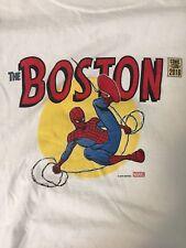 Spiderman Boston Comic Con 2016 T Shirt Size M Marvel Comics Superhero