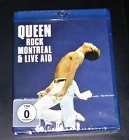 Queen Rock Montreal & Live Aid más Rápido Envío blu ray Nuevo y Emb. Orig.