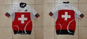 Assos Team Swiss Cycling Shirt Size S Jersey Camiseta Cycle Special Edition