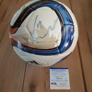 Didier Drogba Signed Soccer ball COA PSA/DNA #AI32576 Autographed