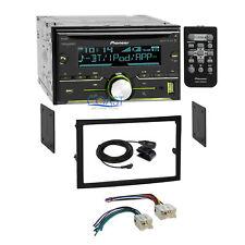 Pioneer USB Bluetooth Sirius 2Din Stereo Dash Kit Harness for 03-05 Nissan 350Z