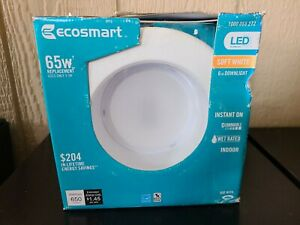 EcoSmart 65W Equivalent Soft White (2700K) Dimmable LED Indirect Recessed Bulb