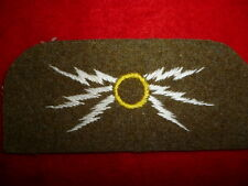 British Army Wireless Mechanic Embroidered Trade Patch Sleeve Badge