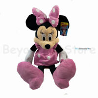 "Disney Minnie Mouse Classic 18"" Plush Toy Doll Christmas Gift for Kids"