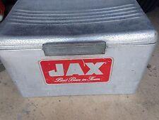Jax Beer Vintage 1950's Metal Ice Chest/Cooler