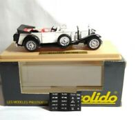 SOLIDO AGE D'OR DIECAST 1:43 SCALE 1928 MERCEDES SS TORPEDO - WHITE - 137