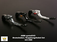 ABM syntoEVO SUZUKI GSX-R 750  Bj. 90-  Bremshebel Kupplungshebel SET mit ABE