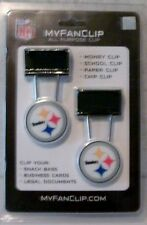 Pittsburgh Steelers  My Fan Clip All Purpose 2 Per Package By Jim Kelly