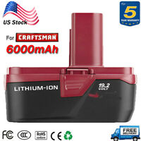 6.0AH for Craftsman C3 Lithium-Ion 19.2v Diehard XCP BATTERY 11375 PP2030 PP2011