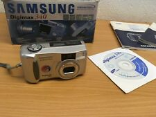 SAMSUNG DIGIMAX 340 DIGITAL CAMERA SPARES OR REPAIR