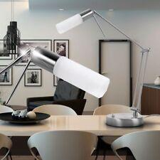 Luminaire de table lampe verre opale spot mobile éclairage bureau salle séjour