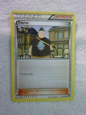 Carte pokémon trainer tierno 112/122 peu commune carte anglaise