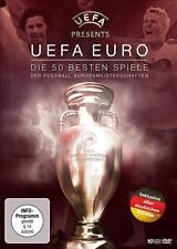 UEFA EURO Die 50 besten Spiele der Fussball-Europameisterschaften 10 DVD 's /WR3