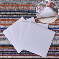 4pcs Anti-skid Fabric Floor Washable Carpet Mat Rug Gripper Stopper Tape Sticker