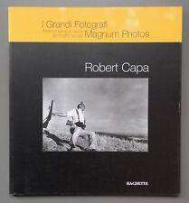 Robert Capa I Grandi Fotografi Best of Portfolio Magnum Photos Hachette 2005