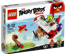 **FREE EXPRESS POST**Lego 75822 The Angry Birds Movie - Piggy Plane Attack (NEW)