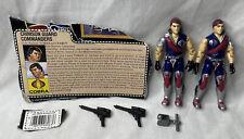 New listing Vintage 1985 G.I. Joe Tomax & Xamot Figures w/ Accessories & File Card
