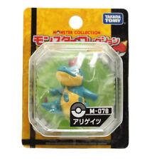 REAL Takaratomy Pokemon M-078 Croconaw / Alligates Monster Figure USA SELLER