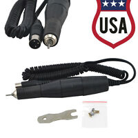 USA ship-35K RPM Dental Lab Jewelry Micromotor Polishing Handpiece Fit Marathon