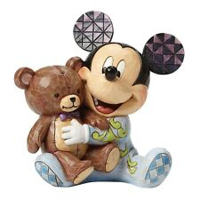 Disney Traditions Pyjama Pals Baby's First Christmas Mickey Mouse Figurine