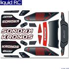 Corally 001803801 Team Corally Body Decal Sheet Kronos XP 6s (1pc)