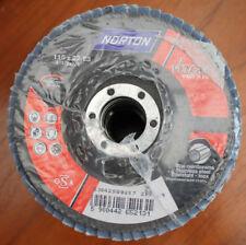 "Norton Vulcan Stainless Steel INOX Discs 115mm x 22.23mm 4"" 1/2 x 7/8"" Pack 10"