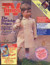 TV TIMES 11/88 - Prince Charles, Billy Connolly, Dave Clark, Julia Morley