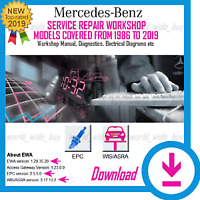 NEW MERCEDES BENZ EPC WIS ALL MODELS SERVICE REPAIR WORKSHOP MANUAL 1982-2019