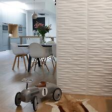 Valeria 3D Wall Panels Decorative Tile Dutch Design Wallpaper 50 x 50cm 12 Board
