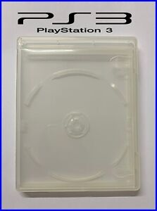 Game case for PS3 Sony replacement retail disc empty box cover