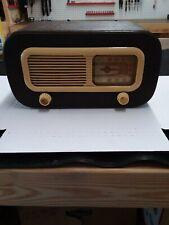 New ListingAntique 1948 Philco Am Radio Leather