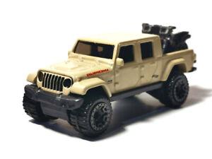 Hot Wheels Tan 2020 Jeep Gladiator Rubicon Kids Diecast Toy Car Baja Blazers