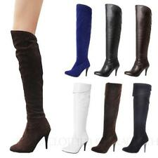 Women's Stiletto Casual Knee High Boots