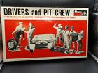 Monogram Drivers & Pit Crew 1/32 Scale #rs3101 New Old Stock 1966 photo