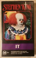 IT VHS 1990 Horror Tommy Lee Wallace Stephen King 1994 WB / Time-Life AUS