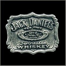 Jack Daniels Tennessee Whiskey Logo Biker Pin for Hat Vest or Lapel