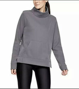 Under Armour womens XL Tonal Purple Synthetic Fleece Mock Mirage