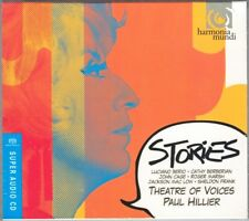 SACD STORIES Berio A Ronne John Cage Roger Marsh PAUL HILLIER Theatre of Voices