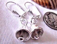 EARRINGS Silver Bells Christmas Time in the CityUSA Handmade USA LVRBKS Ring