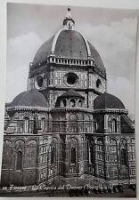 Cartolina Firenze La Cupola del Duomo Brunelleschi VIAGGIATA Postcard