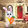 5ft Easter Inflatable Bunny Happy Easter BunnyLED Yard Indoor Holiday Decoration