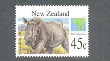 New Zealand-White Rhinoceros Wild Animals - (1821) 1994