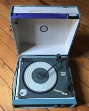 Vintage Symphonic Suitcase Portable Turntable Record Player