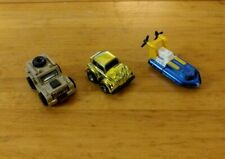 TRANSFORMERS G1 G2 Mini Vehicles Lot of 3: Bumblebee, Seaspray, Outback Vintage